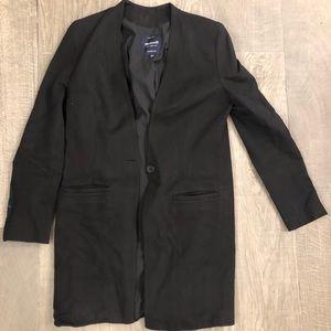 Madewell Long Black Blazer